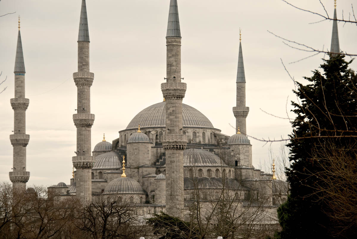 Blaue Moschee – Sultan-Ahmed-Moschee – Istanbul – I